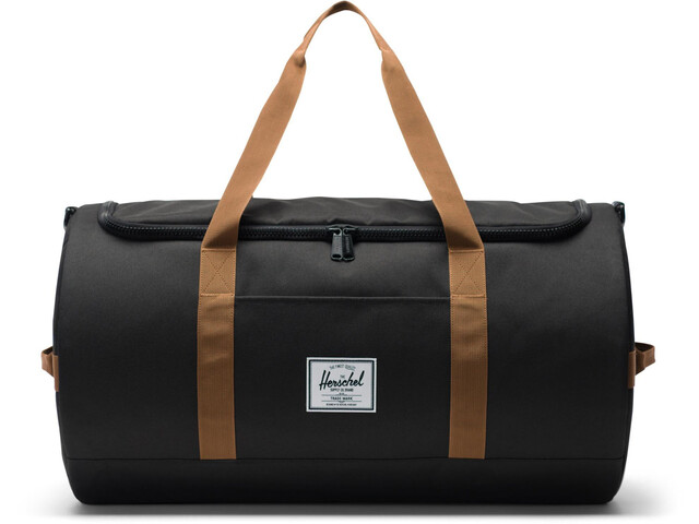 Herschel Sutton Duffle, black/saddle brown